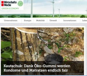 Green Wiwo: Kautschuk