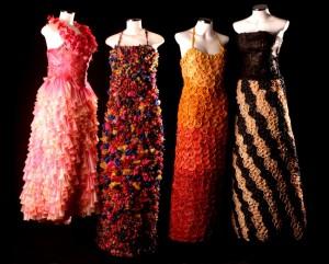sexy Kondom Mode Kleid2