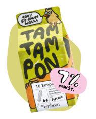 Tampon Piccolo von einhorn Periode jetzt günstiger mit 7% Mehrwertsteuer