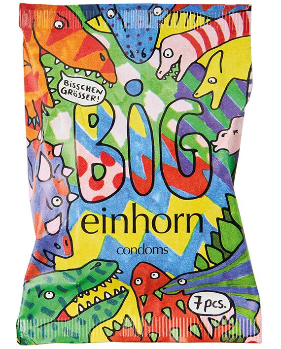 einhorn BIG Kondomverpackung 57mm