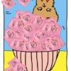 Verliebter Hamster mit einem Jahresvorrat an einhorn BIG Kondomen